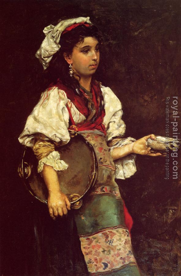 Julius LeBlanc Stewart : Spanish Girl