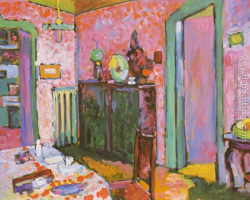 Wassily Kandinsky : Interior My Dining Room