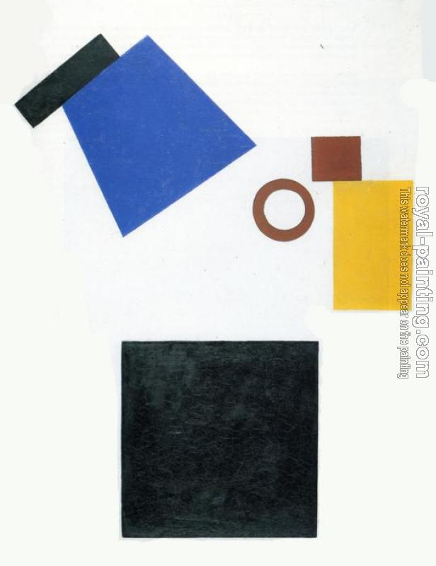 Kazimir Malevich : Suprematism, Two Dimensional Self Portrait