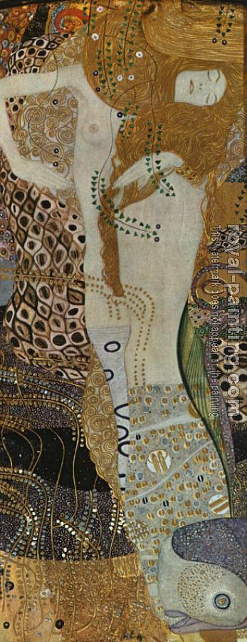 Gustav Klimt : Sea Serpents