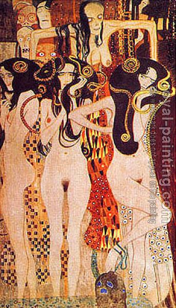 Gustav Klimt : Beethoven Frieze