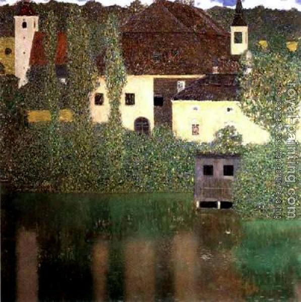 Gustav Klimt : Schloss Kammer on the Attersee I