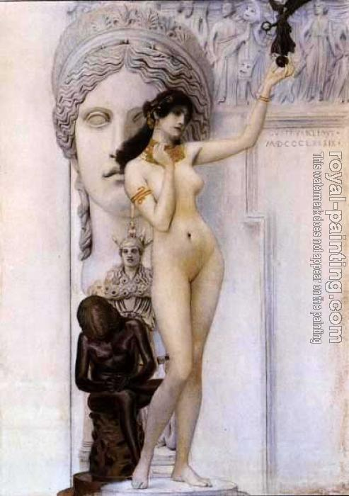Gustav Klimt : Allegory of Sculpture