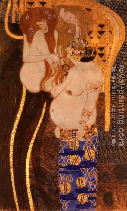 Gustav Klimt : The Beethoven Frieze