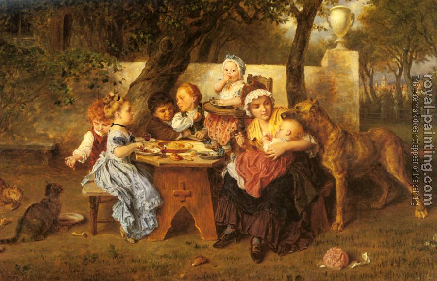 Ludwig Knaus : The Birthday Party