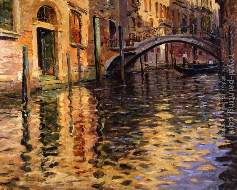 Louis Aston Knight : Pont del Angelo, Venice