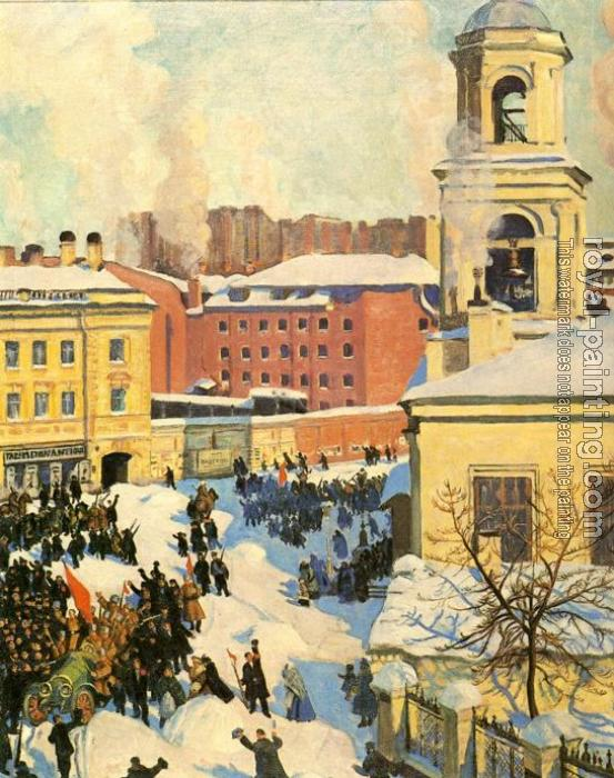 Boris Kustodiev : February 27