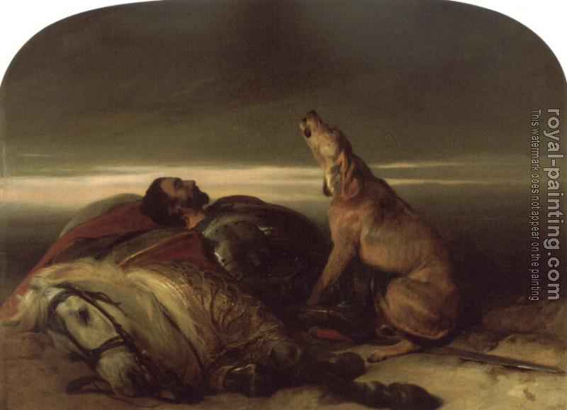 Sir Edwin Henry Landseer : The Faithful Hound