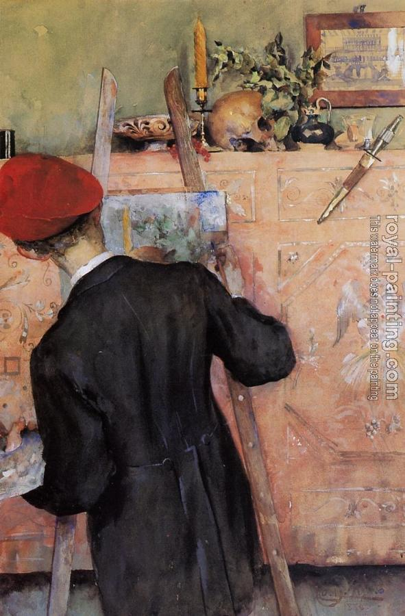Carl Larsson : The Still Life Painter