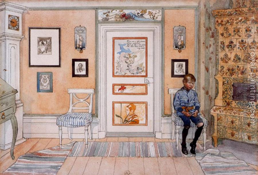 Carl Larsson : In the Corner From A Home