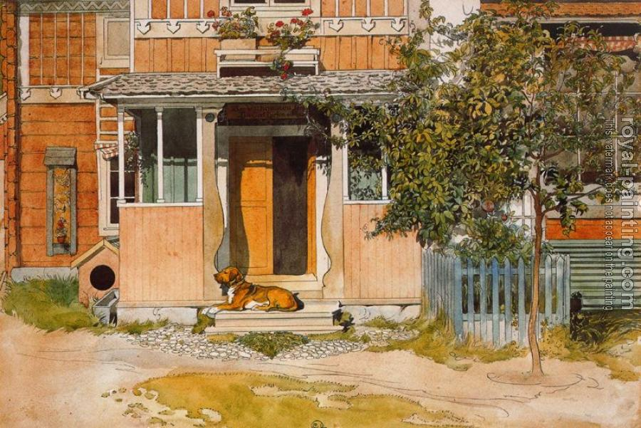 Carl Larsson : The Veranda
