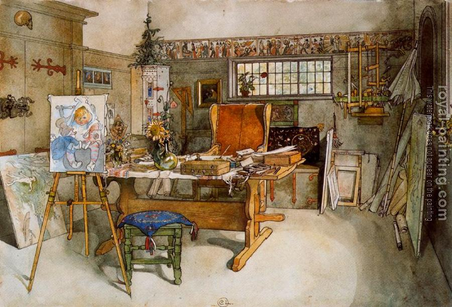 Carl Larsson : The Study