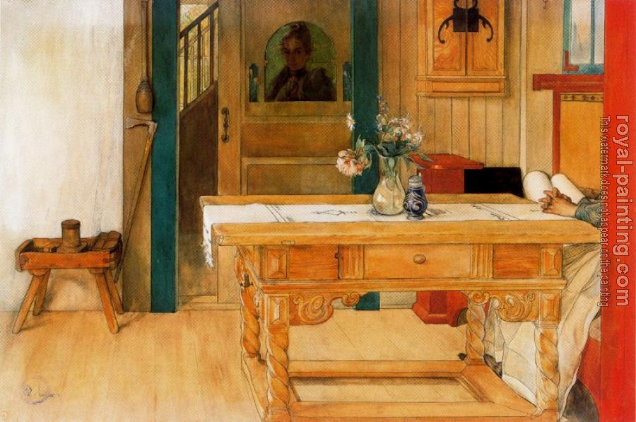 Carl Larsson : The Sunday Rest