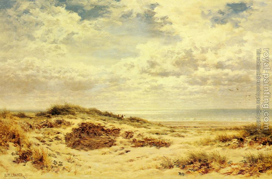 Benjamin Williams Leader : Morning on the Sussex Coast