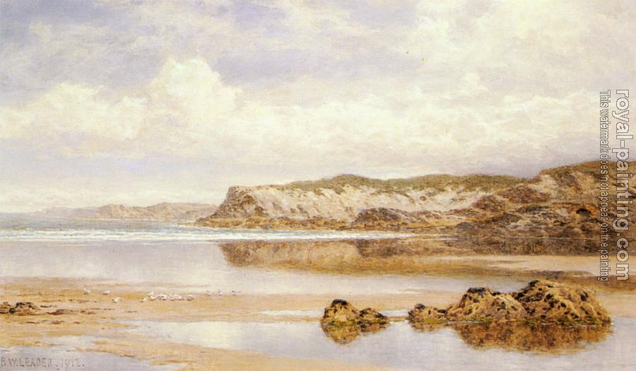 Benjamin Williams Leader : The Incoming Tide, Porth Newquay