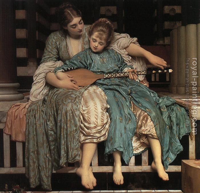 Lord Frederick Leighton : Music Lesson