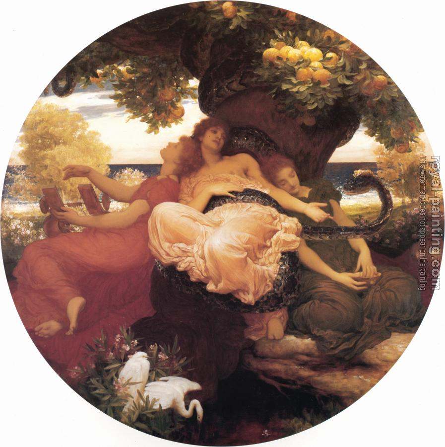 Lord Frederick Leighton : The Garden of the Hesperides