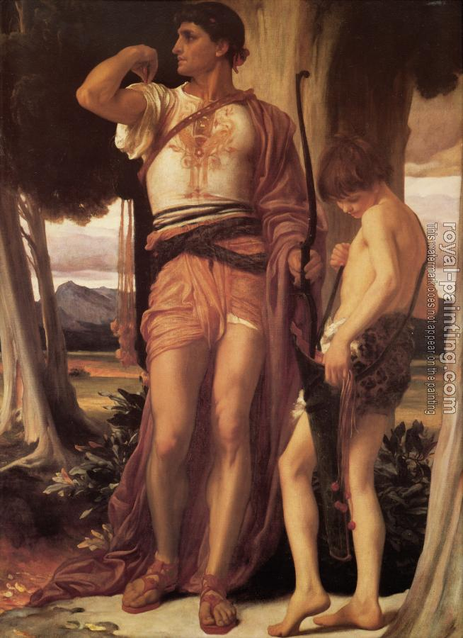 Lord Frederick Leighton : Jonathan's Token to David