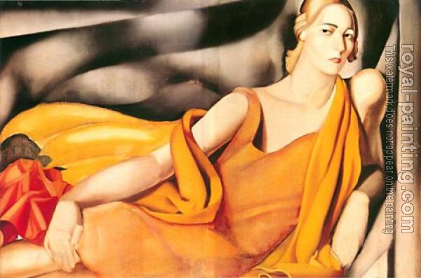Tamara De Lempicka : Woman in Yellow