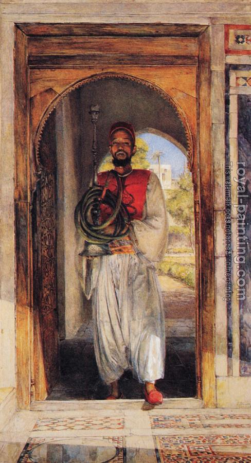 John Frederick Lewis : The Pipe Bearer