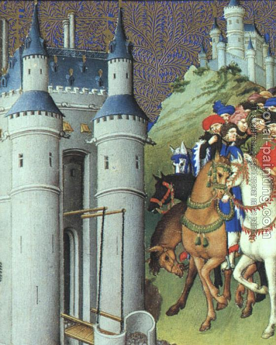 Limbourg Brothers : The Duke on a Journey