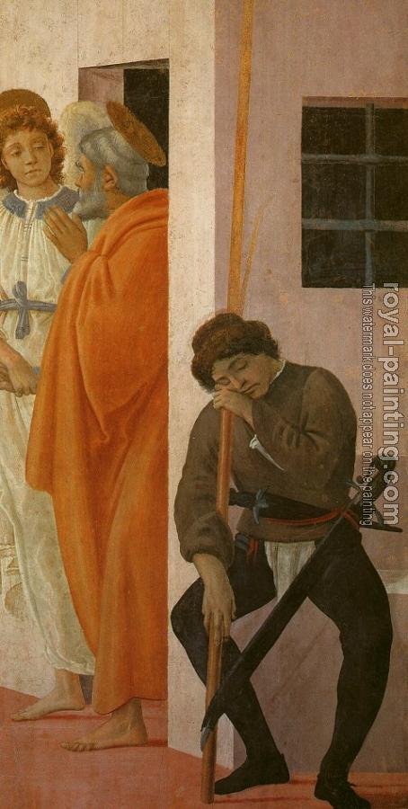 Filippino Lippi : St Peter Freed from Prison
