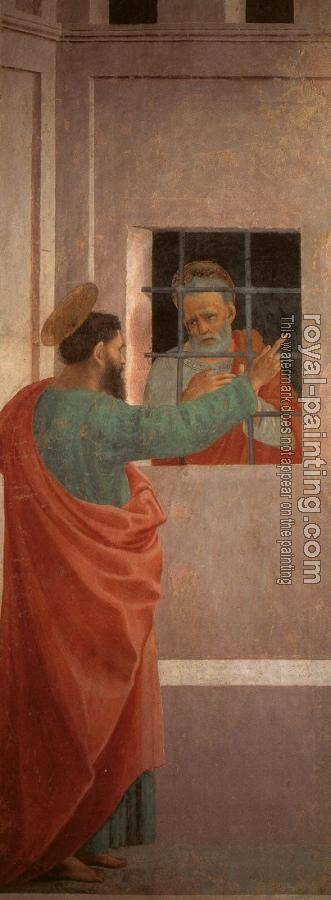 St Paul Visits St Peter in Prison