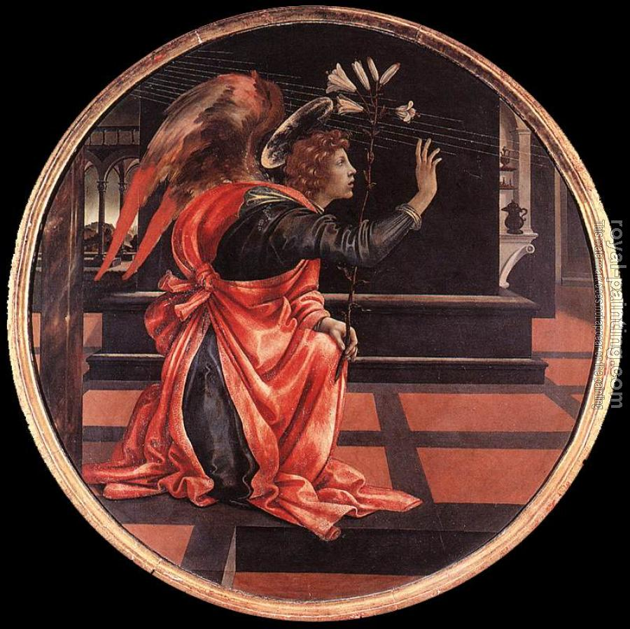 Filippino Lippi : Gabriel from the Annunciation