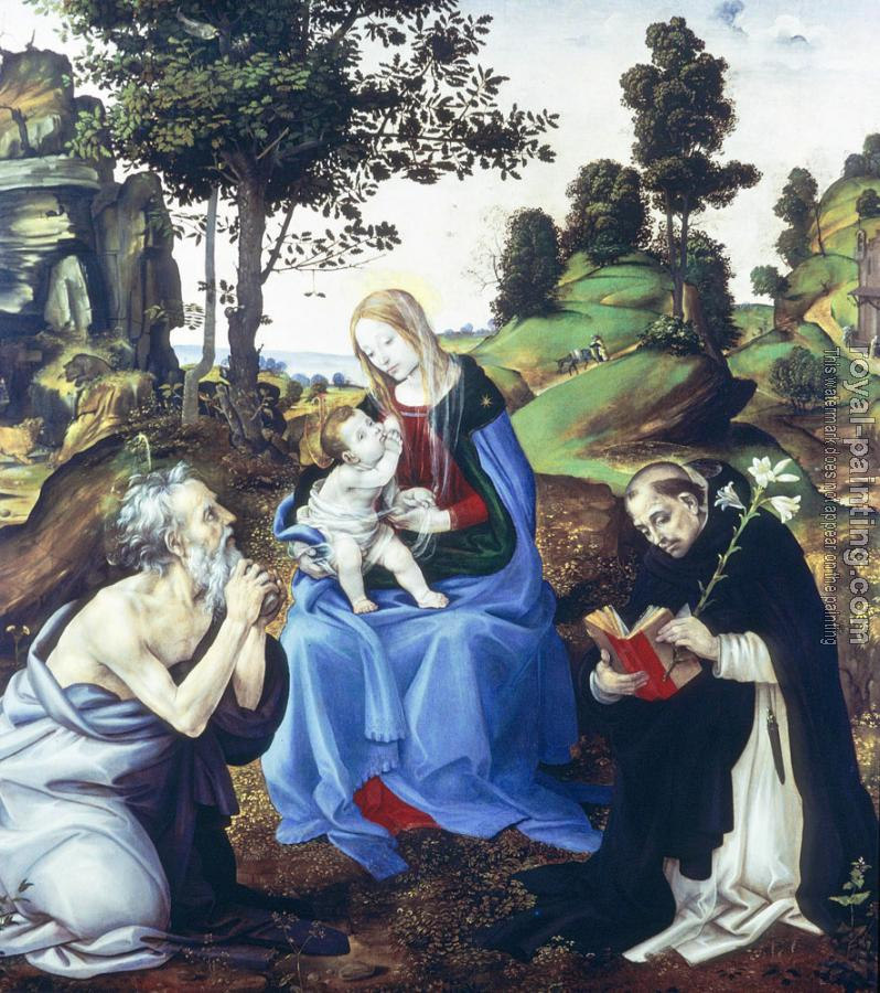 Filippino Lippi : Holy Family