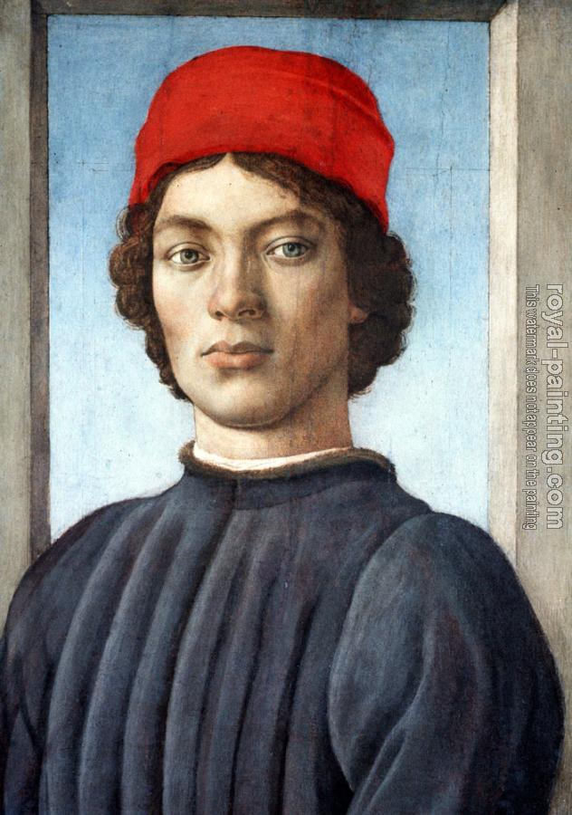 Filippino Lippi : Portrait of a youth