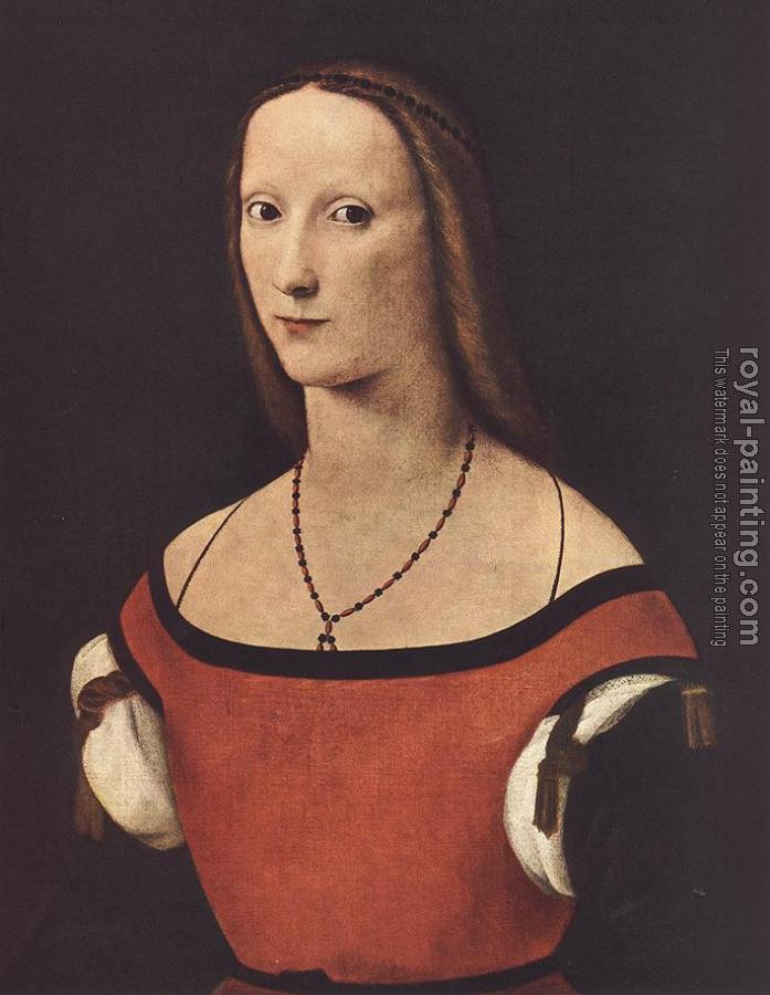 Lorenzo Costa : Portrait of a Woman