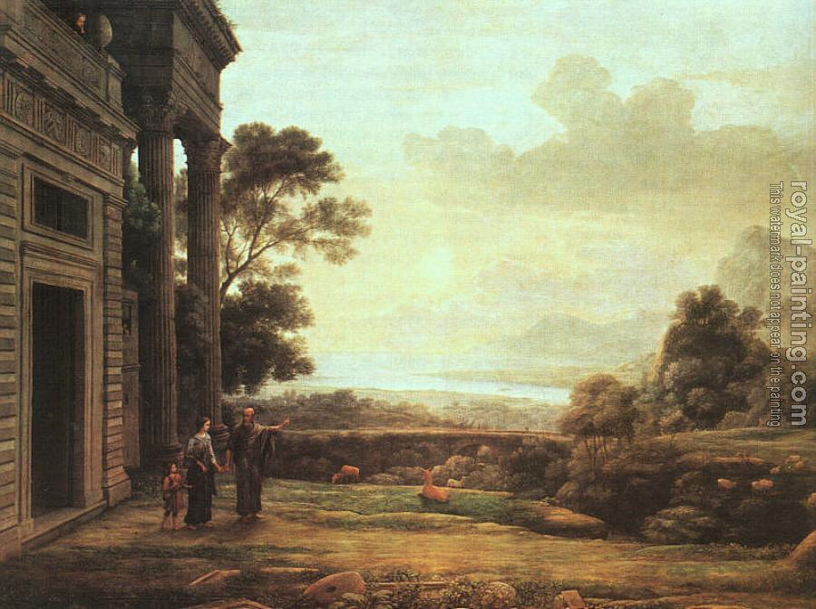 Claude Lorrain : The Expulsion of Hagar