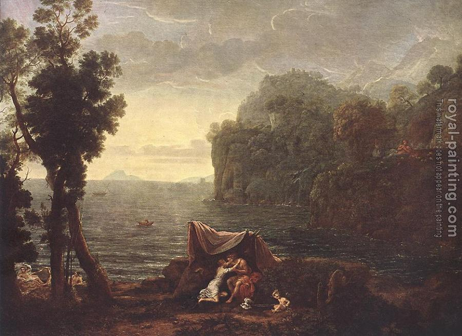 Claude Lorrain : Landscape with Acis and Galathe