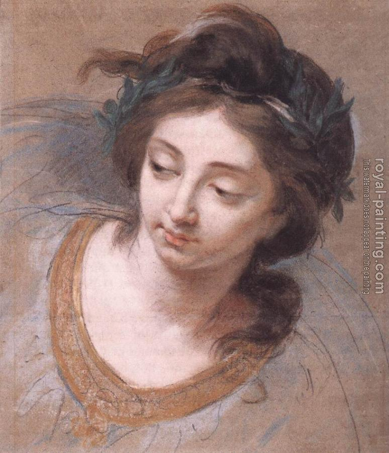 Louise Elisabeth Vigee Le Brun : Woman's Head