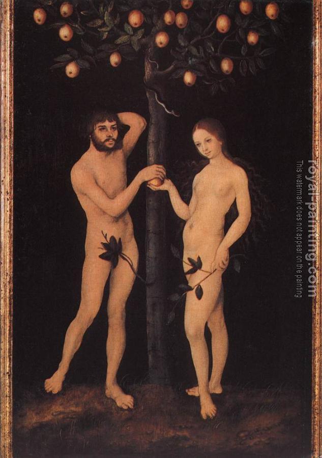Lempicka Adam And Eve Cranach Adam And Eve Iii