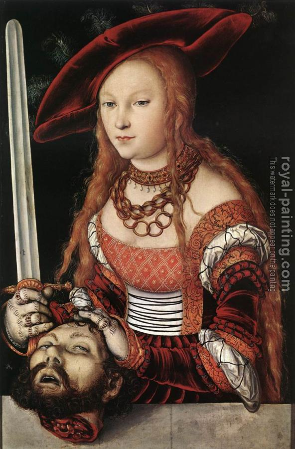 Lucas Il Vecchio Cranach : Judith with the Head of Holofernes