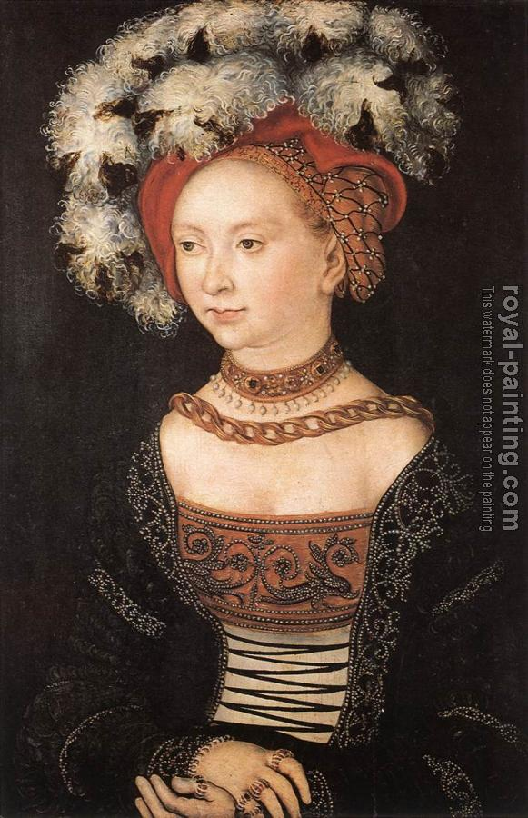 Lucas Il Vecchio Cranach : Portrait of a Young Woman