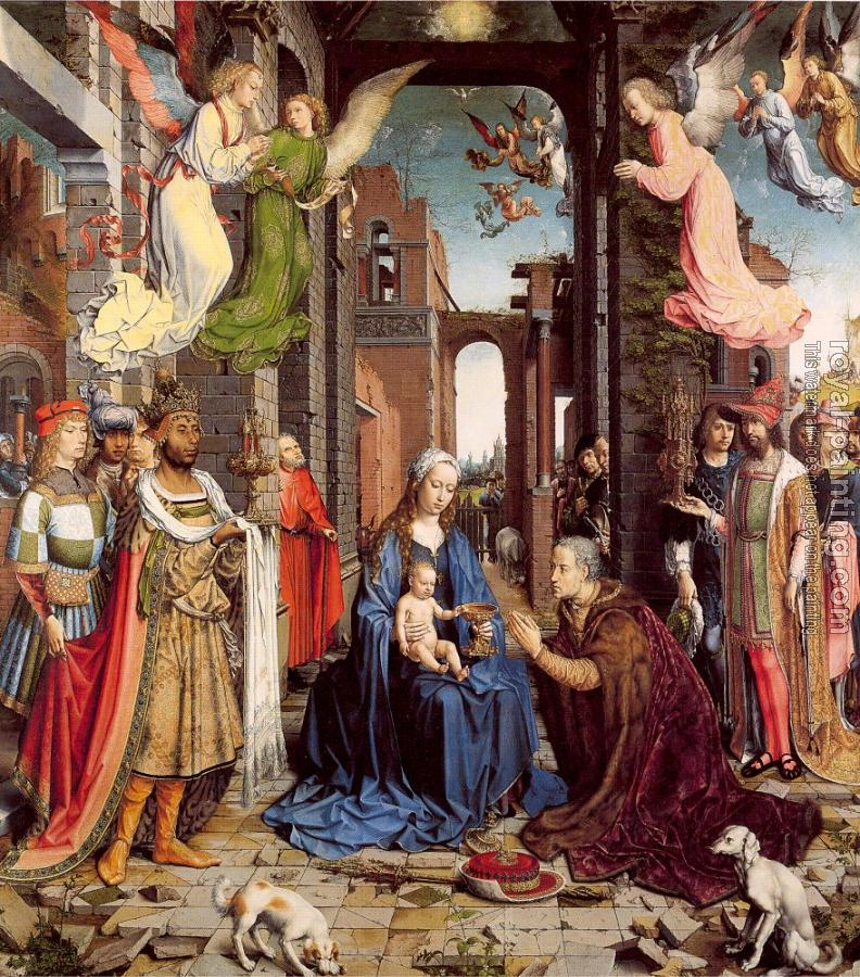 Jan Mabuse : The Adoration of the Kings