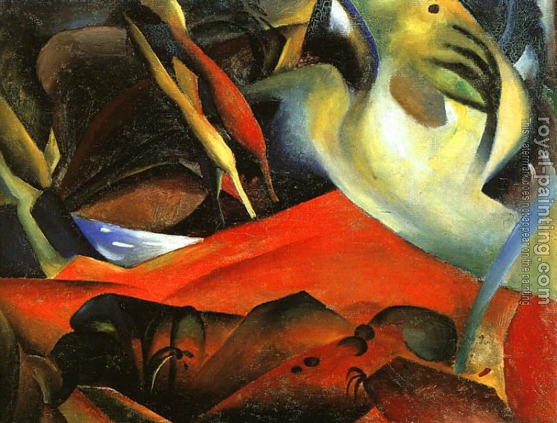 August Macke : The Storm