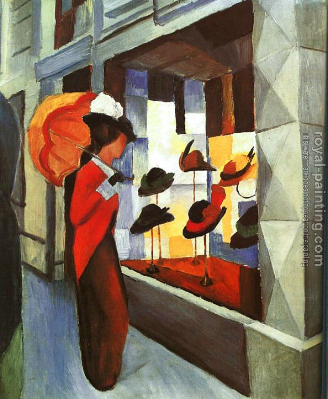 August Macke : The Hat Shop