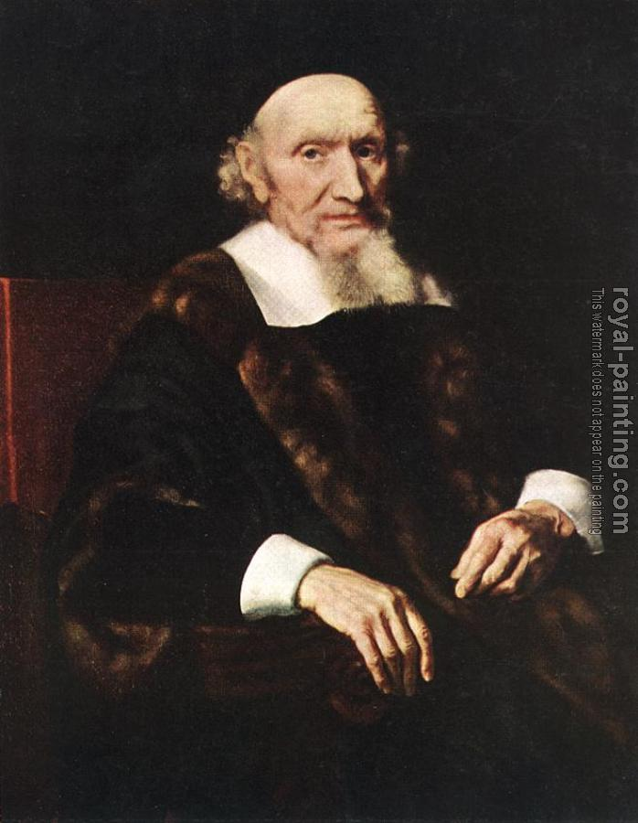 Nicolaes Maes : Portrait of Jacob Trip