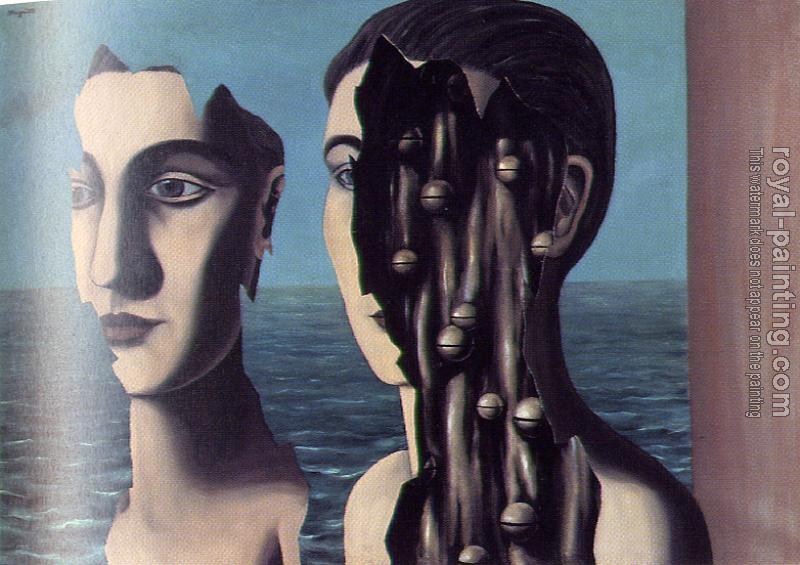 Rene Magritte : the secret double