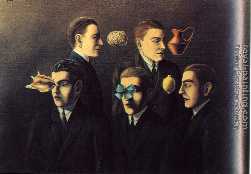 Rene Magritte : familiar objects