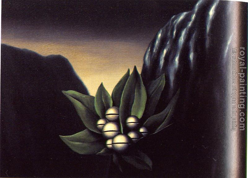 Rene Magritte : the flowers of the abyss I