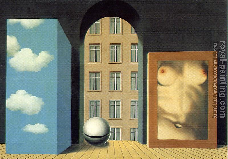 Rene Magritte : act of violence