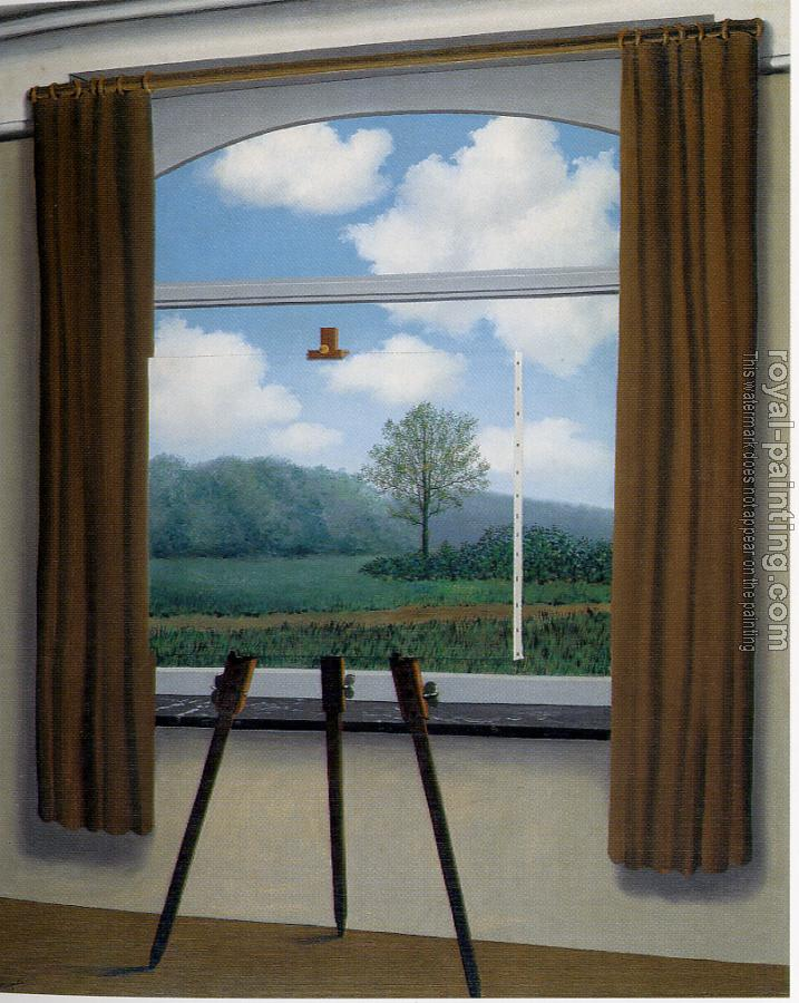 Rene Magritte : the human condition