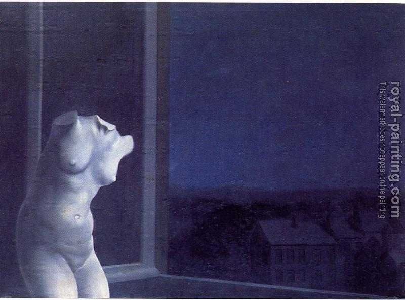 Rene Magritte : Lady of the Night