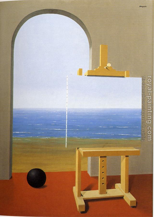 Rene Magritte : The human condition II