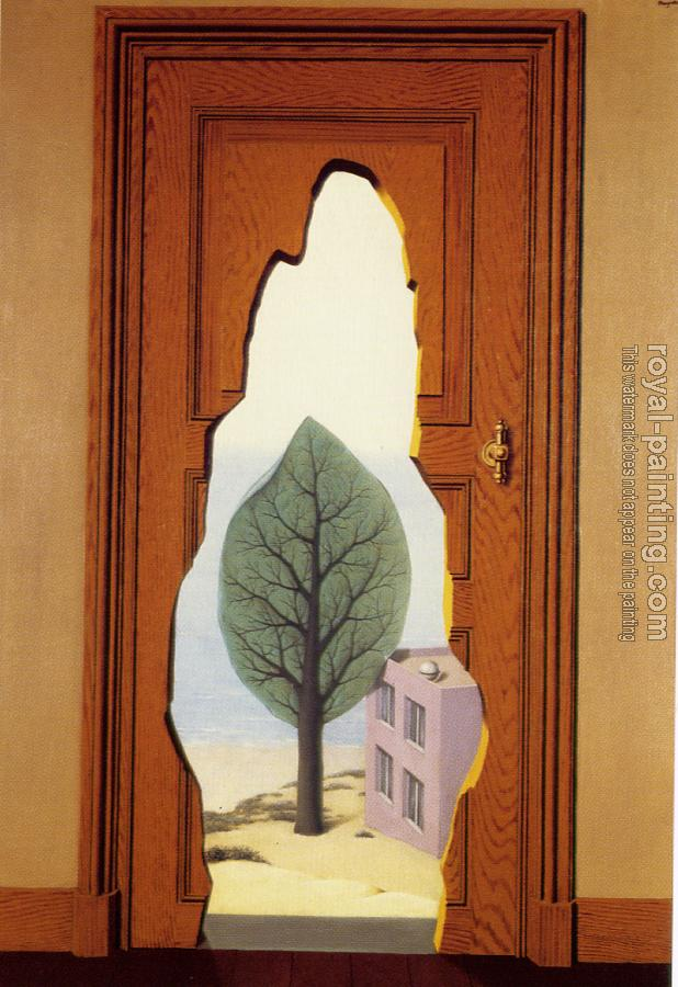 Rene Magritte : The amorous perpective