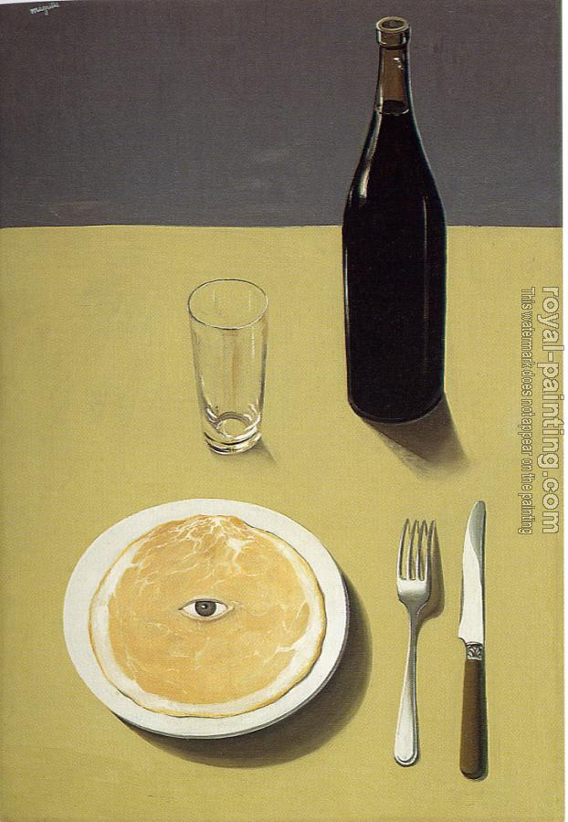 Rene Magritte : the portrait